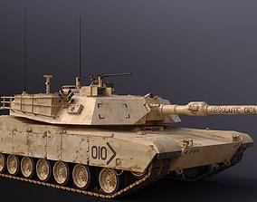M1 Abrams vehicle 3D