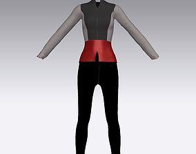 office garment 3D printable model