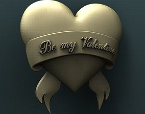 3d STL Model for CNC Router - Happy Valentines