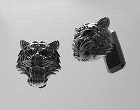 3D print model TIGER Cufflinks