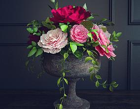 Floral arrangement 3D