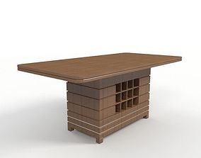 3D Dining Table-1