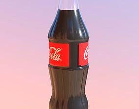 3D asset Coca-Cola Bottle