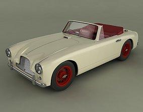 Aston Martin DB2 4 mk1 drophead cabrio 3D model
