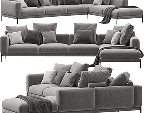 3D model Sofa Flexform Romeo sofa