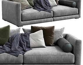 Poliform Sofa Bristol 3D model pillow