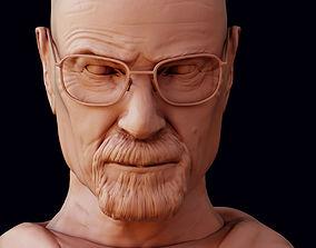 Walter White 3D model print walter