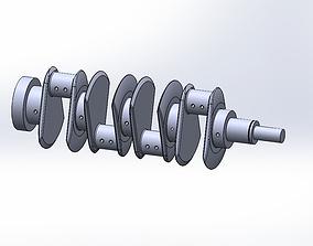 Engine CrankSaft 3D print model