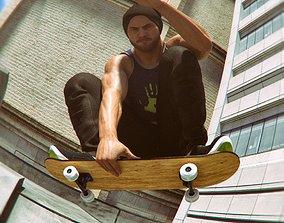 3D Urban Skateboard