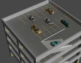 3D asset Parking Lot model