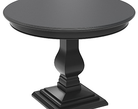 Dantone Home table 3D model restaurant