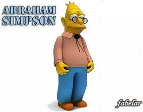 Abraham Simpson 3D model