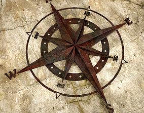 3D printable model Old Metal Compass