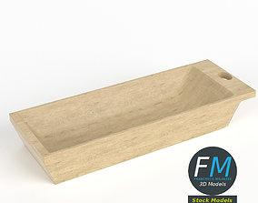 3D Kneading trough