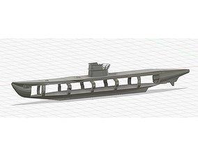 U-boot 3D printable model