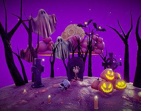 Halloween Collection 3D asset