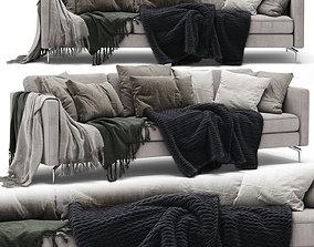 BoConcept Osaka 3 seater sofa 3D