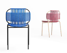 Ames Cielo stacking chair 3D model
