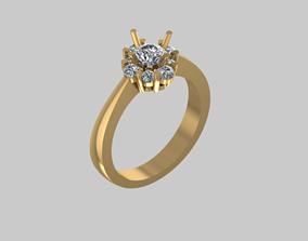 Ring Diamond 8 Free 3D printable model