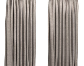 3D Curtains 5