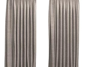 3D Curtains 5