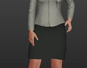 Female Politician 3D model