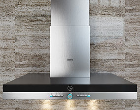 Hood kitchen Siemens LC 968 BA 90 BK 3D