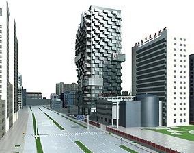 Commercial Building apartment 3D