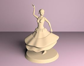 gypsy dancer 3D printable model