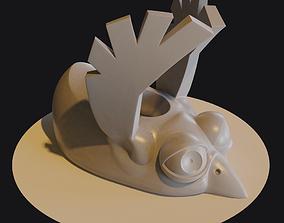 animal 3D print model Stylus holder