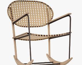3D model Gronadal Rocking Chair 001