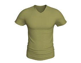 3 D Men T-Shirt clothes 3D