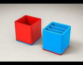 Basic Rotatable Stationery Holder 3D print model
