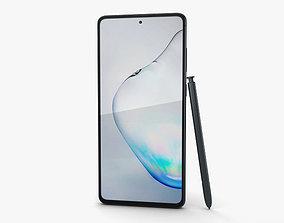 3D model Samsung Galaxy Note10 Lite Aura Black