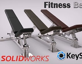 Fitness Bench 3D