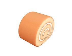 Cake Roll 3D model