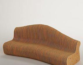Parametric bench 01 3D