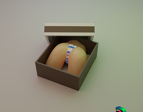 3D printable model Naughty Present Box