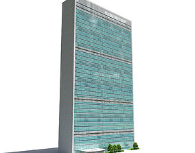 United Nation Headquarter Main Building 3D model