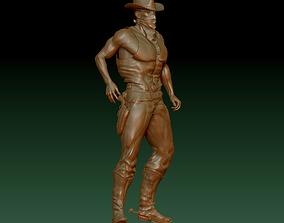 3D print model colt Western man