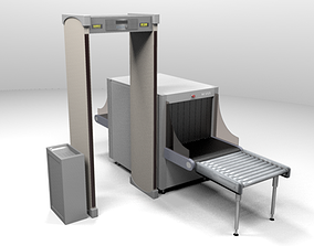 Security Check Point 3D model
