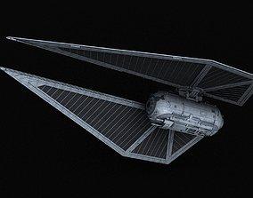 3D Galactic Empire TIE sk x1 Striker