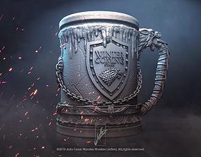 House Stark Jar V1 Game of Thrones 3D print model