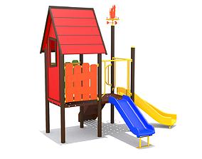 3D asset Kids Playground