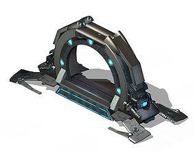 Heterogeneous - Building - Portal 01 3D