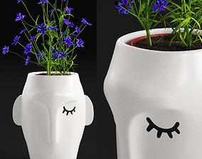 3D Amenna vase small