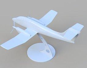 3D printable model FMA IA 58 Pucara Argentina stl