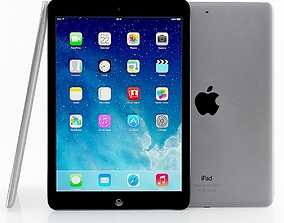 3D touchscreen Apple iPad Air and Mini 2 Silver Space gray