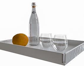 Sparkling Mineral Water 3D model