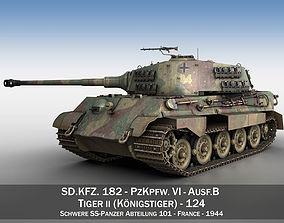 Panzerkampfwagen VI - Ausf B - Tiger 3D model